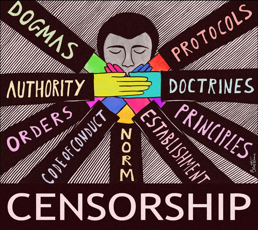 an argument against censorship of the internet Ala's office for intellectual freedom collects resources about the first amendment, censorship internet restrictions and censorship of or against public.