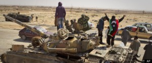 Gaddafi Retreats War in Libya