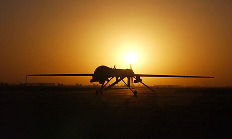 The MoD says Britain needs to define its policy on the use of unmanned machines in battle zones.